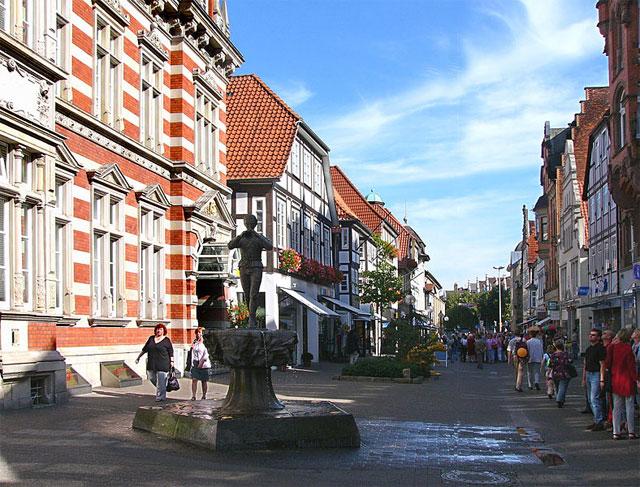 Rattenfängerbrunnen in Hameln