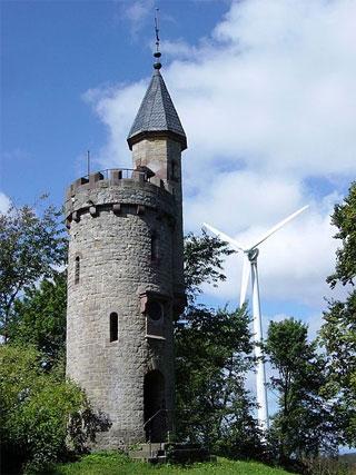 Bismarckturm in Höxter
